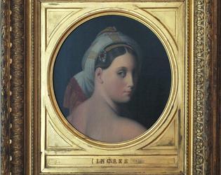Odalisque, Ingres - musee des beaux-arts de Cambra