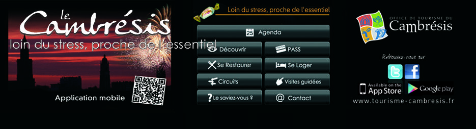 Application du Cambrésis sur  Smartphone