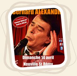 bernard alexandre - Revivre Brel