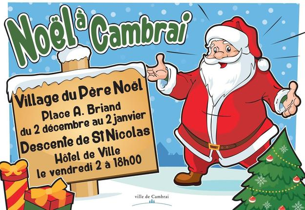 Noel à Cambrai 2016