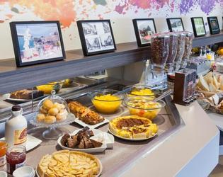 Petit déjeuner Inter-hôtel
