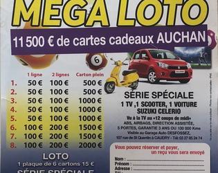 mega loto football club cambrai saint roch janvier