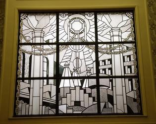 vitrail ancienne chambre de commerce de cambraiart