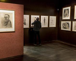 vue salle Matisse cabinet dessin musee Matisse Le