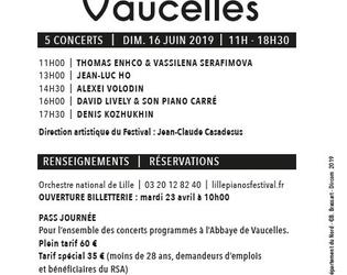 PROGRAMME LILLE PIANO