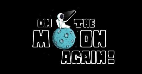On the moon again