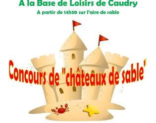 concours de chateau de sable - BDL Caudry 2019