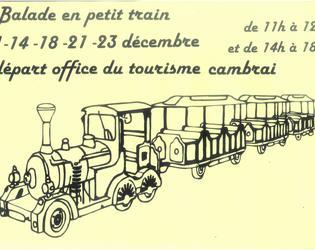 petit train noel 2019