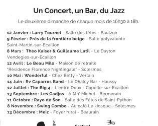 jazz bar en Solesmois 2020