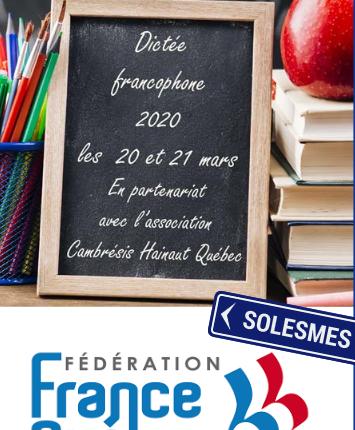 La dictée francophone scoalire