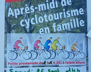 cyclotourisme en famille - montigny en cambresis -