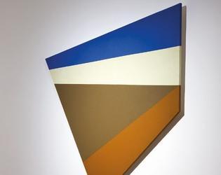Jean Legros, Composition, 1977, acrylique sur panneau, 130x105 cm, don André Le Bozec, inv 2016.3.2