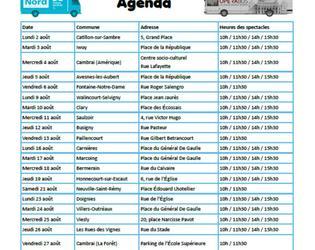 agenda a plus dans l'bus