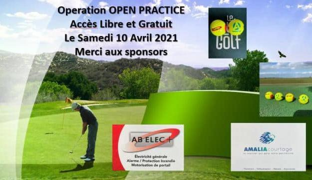 portes ouvertes practice golf 2021