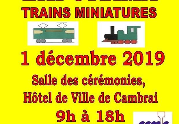 2019 expo trains miniatures