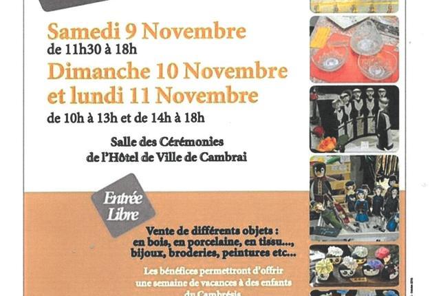 24 eme expo artisanale cambrai