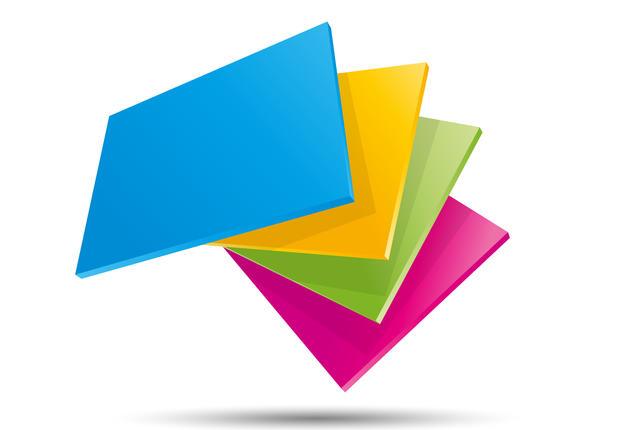 carrés 4 couleurs