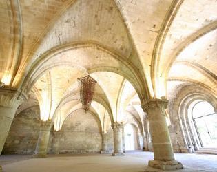 Intérieur de l'Abbaye de Vaucelles