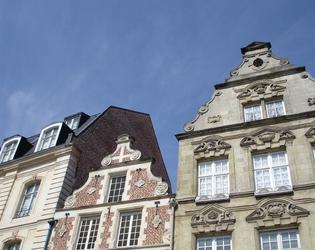 Maisons place du Marché, Cambrai