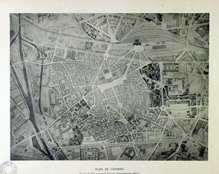 Vieux Plan Cambrai