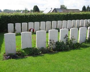 cimetière militaire britannique du cimetière communal d'Ors