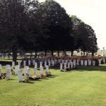 Le Cateau military cemetery