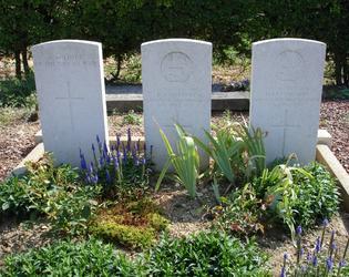 Villers Ghislain dans le cimetière civil