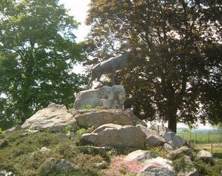 monument du caribou