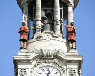 campanile de l'hôtel de ville