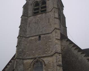 clocher de l'église d'elincourt