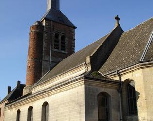 Eglise Saint André de Montrécourt