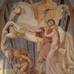fresque vestibule hôtel de ville de cambrai