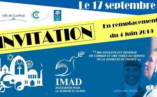 invitation conférence Latifa Ibn Ziaten