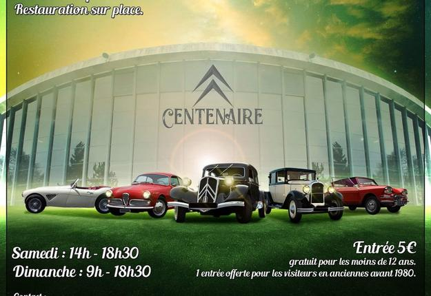 6eme salon auto retro septembre 2019