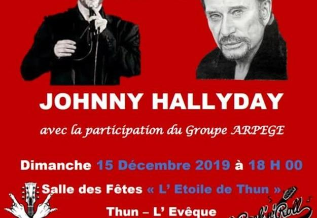 thibaut chante Johnny 2019