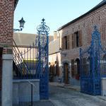 grille de l'ancien château de Clermont