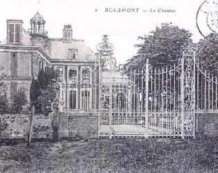 Bethencourt  Château et grille