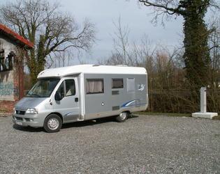 Aire de Camping Car de Banteux