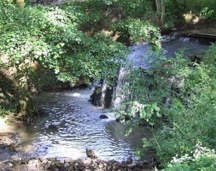 la belle cascade de la Chaiserie