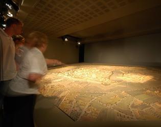 plan en relief musee des beaux arts Cambrai