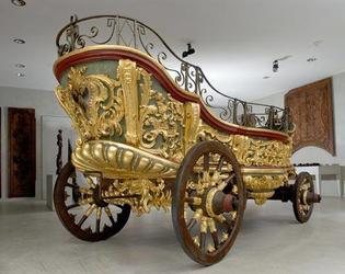 Char de procession, musee des beaux arts Cambrai