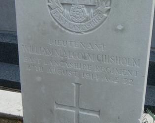 1er officier australien tombe guerre 14-18 Ligny