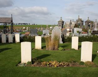 Esnes communal cemetery