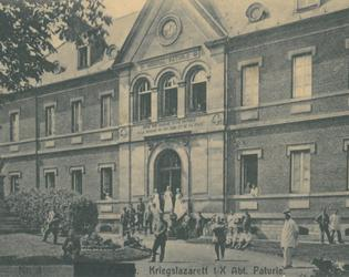 Hopital Paturle- Bibliotheque minicipale du Cateau