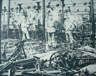 3. Atelier au lendemain du 26-08-1914Coll. Docteur