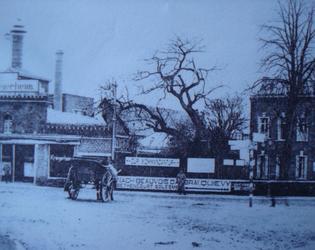 19. Kriegerheim - foyer du soldat dans magasion de