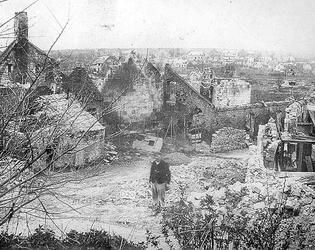 Bantouzelle ruines Gaillard
