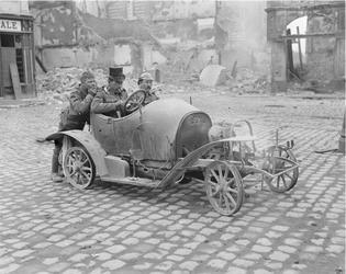 Cambrai OCJ - 11 octobre 1918 - 3 soldats anglais