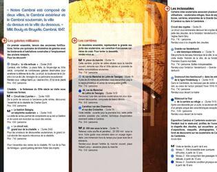 programme verso Cambrai souterrain 2015