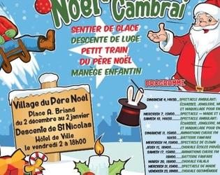 Noel à Cambrai 2016 animations